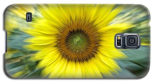 Zoom Sunflower Galaxy S5 Case