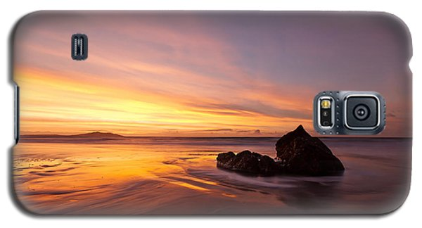 Galaxy S5 Case featuring the photograph  Atomic Sunset by Beverly Cash