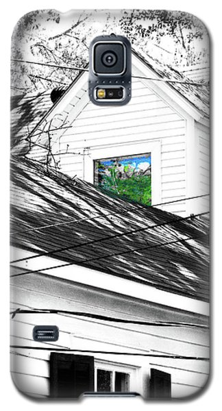 Galaxy S5 Case featuring the digital art  Beauregard Attic Baton Rouge by Lizi Beard-Ward