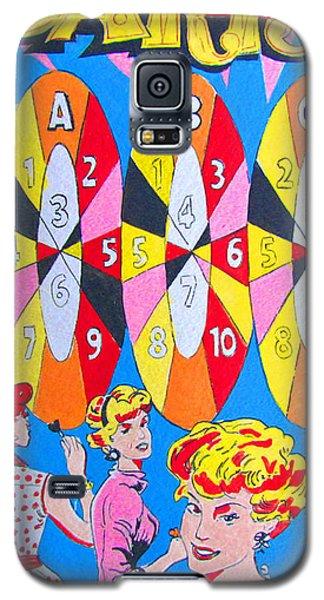 Girl Darts Galaxy S5 Case