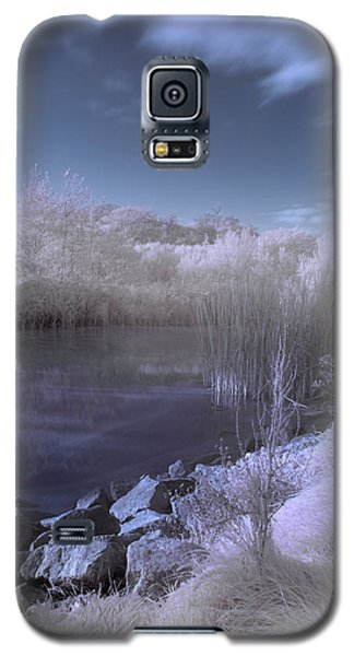 Galaxy S5 Case featuring the photograph  Infrared Pond by Beverly Cash