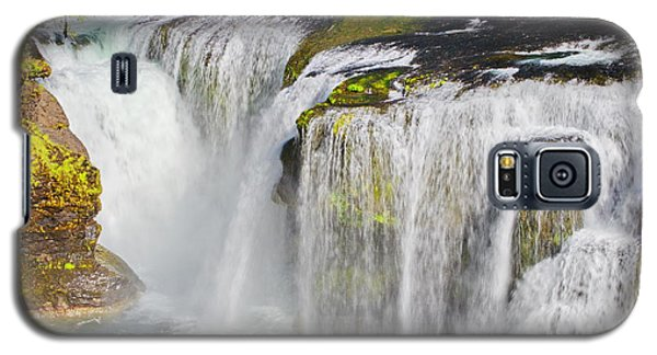 Lower Falls On The Upper Lewis River Galaxy S5 Case
