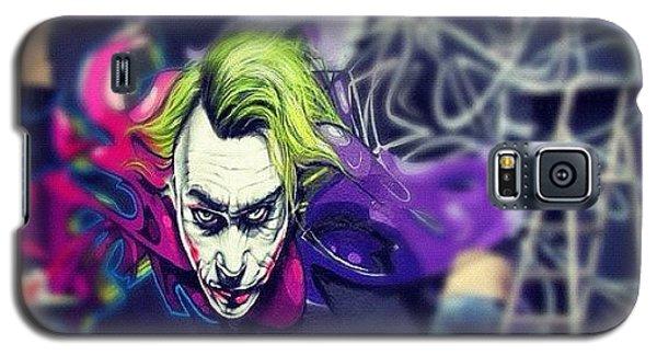 Superhero Galaxy S5 Case -  by Nigel Brown