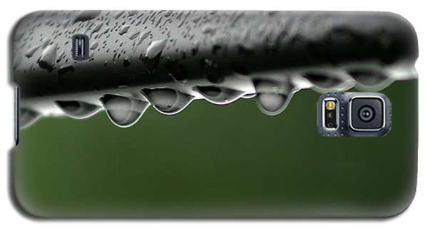 Galaxy S5 Case featuring the photograph  Rain Drops by Emanuel Tanjala