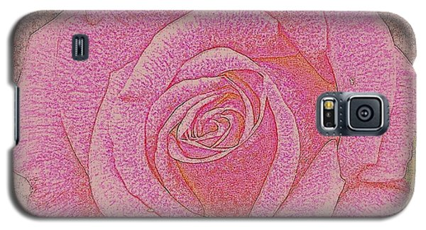 Galaxy S5 Case featuring the photograph  Rose by Tanya  Searcy