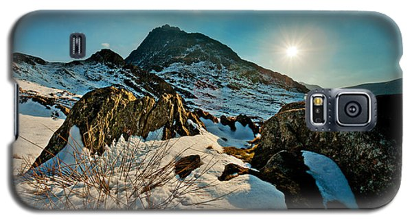 Spring Snows At Tryfan Galaxy S5 Case