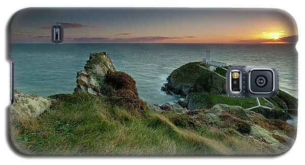 Sunset At South Stack Lighthouse Galaxy S5 Case