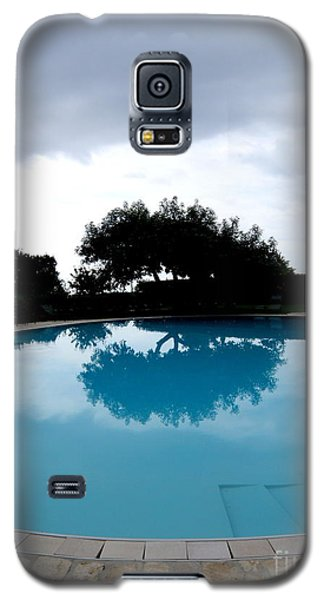 Galaxy S5 Case featuring the photograph  Tree At The Pool On Amalfi Coast by Tanya  Searcy