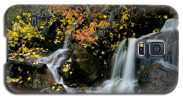 Galaxy S5 Case featuring the photograph  Waterfall by Mitch Shindelbower