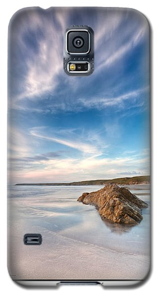 Welsh Coast - Porth Colmon Galaxy S5 Case by Beverly Cash