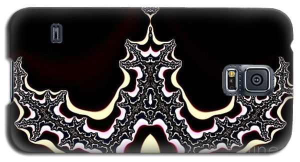 Galaxy S5 Case featuring the digital art  Fractal by Odon Czintos
