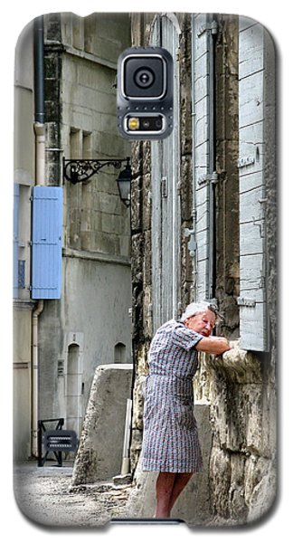 Galaxy S5 Case featuring the photograph Another Nap.arles.france by Jennie Breeze