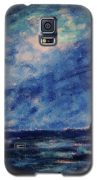 Big Blue Galaxy S5 Case by John Scates