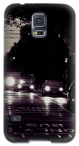 Bus Only Lane Galaxy S5 Case by Bob Wall