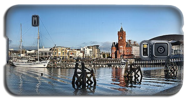 Cardiff Bay Panorama Galaxy S5 Case