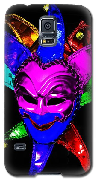 Galaxy S5 Case featuring the digital art Carnival Mask by Blair Stuart