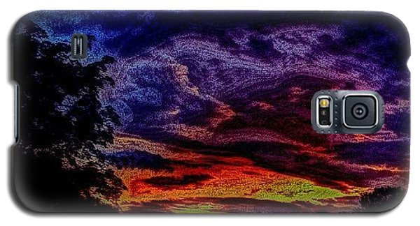Cloudy Night Galaxy S5 Case by Austin Engel