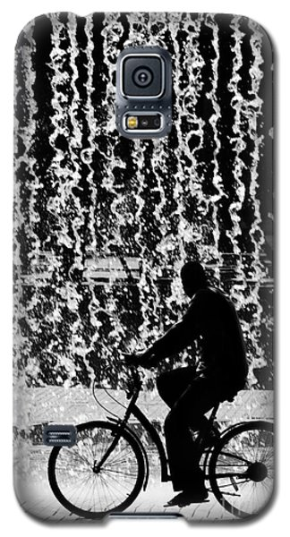 Bicycle Galaxy S5 Case - Cycling Silhouette by Carlos Caetano
