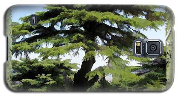 Do-00512 Cedar Forest Galaxy S5 Case