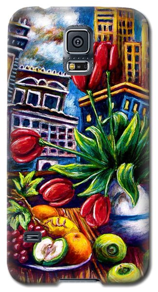 Down Town Tulips Galaxy S5 Case