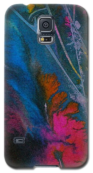 Galaxy S5 Case featuring the painting Earth Spirit by Mary Sullivan