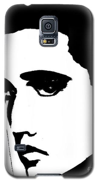 Elvis In Black And White Galaxy S5 Case