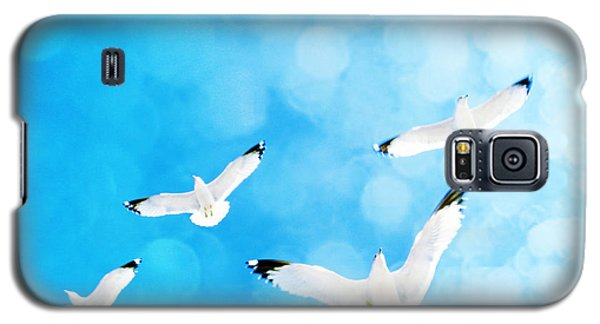 Galaxy S5 Case featuring the photograph Fly Free by Robin Dickinson