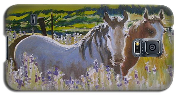 Galaxy S5 Case featuring the painting for Pamela by Julie Todd-Cundiff