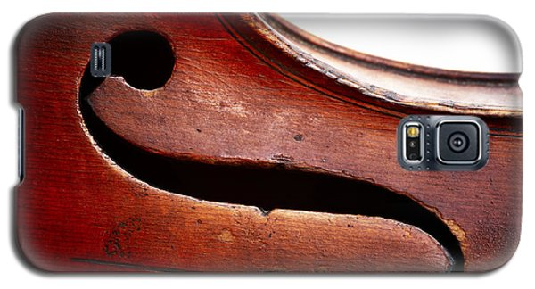 Violin Galaxy S5 Case - G Clef by Michal Boubin