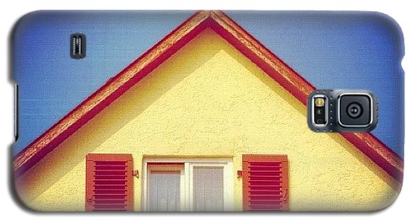 House Galaxy S5 Case - Gable Of Beautiful House In Front Of Blue Sky by Matthias Hauser