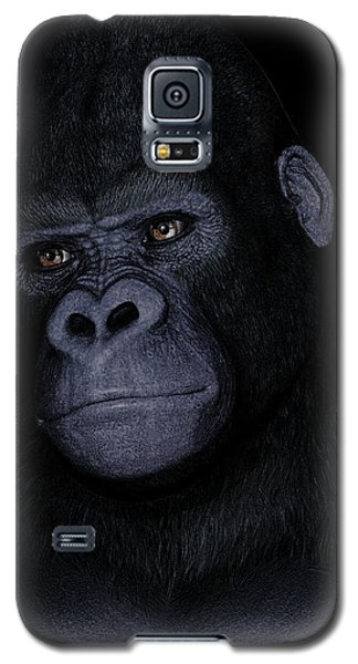 Gorilla Portrait Galaxy S5 Case