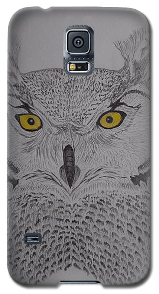 Great Horned Owl Galaxy S5 Case by Gerald Strine