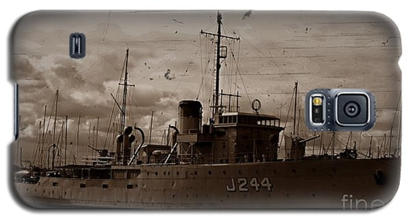Galaxy S5 Case featuring the photograph Hmas Castlemaine 2 by Blair Stuart