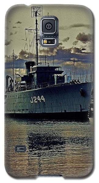Galaxy S5 Case featuring the photograph Hmas Castlemaine 3 by Blair Stuart