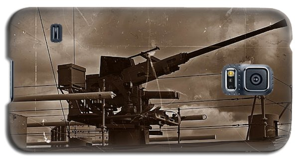 Galaxy S5 Case featuring the photograph Hmas Castlemaine 5 by Blair Stuart