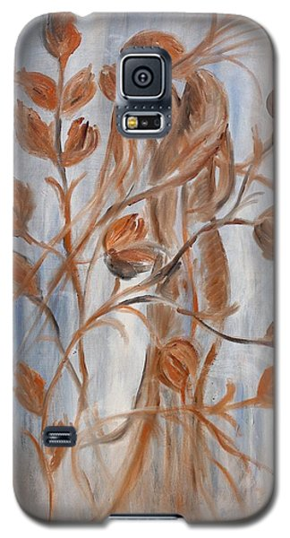 Galaxy S5 Case featuring the painting hug by Sladjana Lazarevic