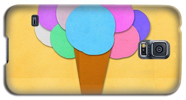 Ice Galaxy S5 Case - Ice Cream On Hand Made Paper by Setsiri Silapasuwanchai