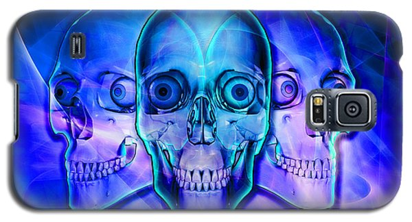 Illuminated Skulls Galaxy S5 Case