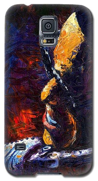 Portret Galaxy S5 Case - Jazz Ray by Yuriy Shevchuk