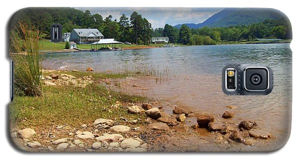 Galaxy S5 Case featuring the photograph Lake Chatuge View by Lou Ann Bagnall
