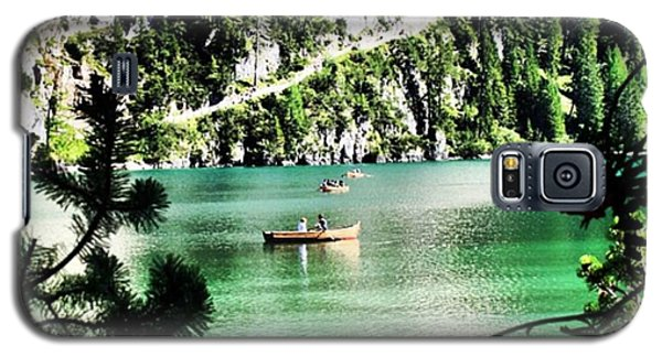 Transportation Galaxy S5 Case - Lake Of Braies - South Tyrol by Luisa Azzolini