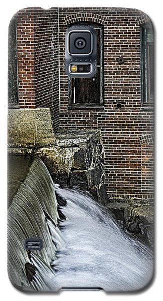 Galaxy S5 Case featuring the photograph Little River Dam by Betty Denise