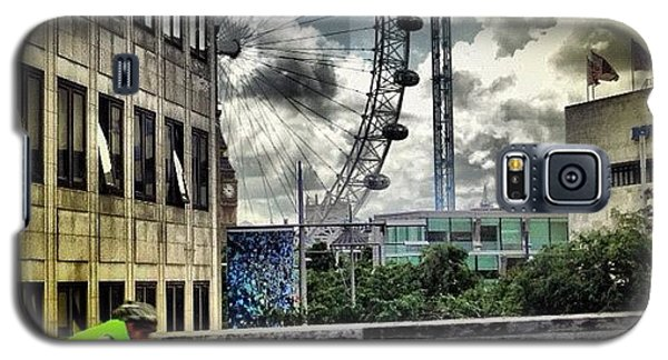 #london #london2012 #ignation #instahub Galaxy S5 Case by Vanessa C