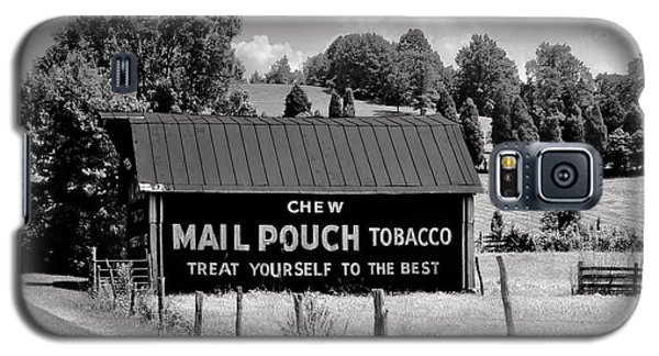 Galaxy S5 Case featuring the photograph Mail Pouch Barn by Mary Almond