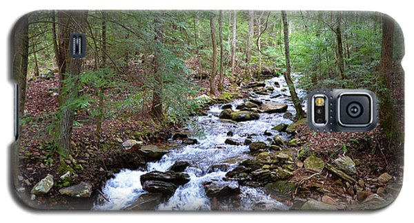 Galaxy S5 Case featuring the photograph Mountain Stream by Paul Mashburn