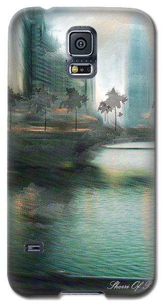 Galaxy S5 Case featuring the photograph My Kind Of Town Chicago Is by Sherri  Of Palm Springs