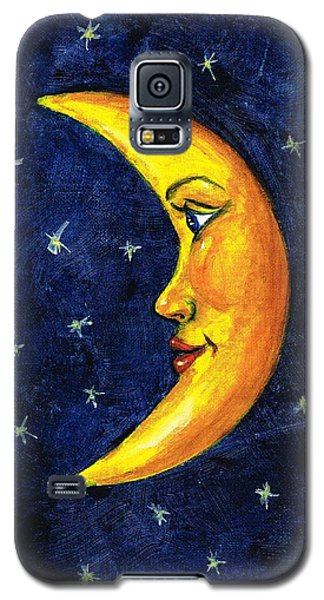 New Moon Galaxy S5 Case by Sarah Farren