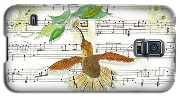 1 Of 2 - Natures Symphony-the Conductor Galaxy S5 Case by Joy Braverman