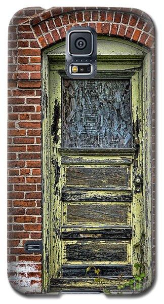 Old Green Door Galaxy S5 Case by Joanne Coyle