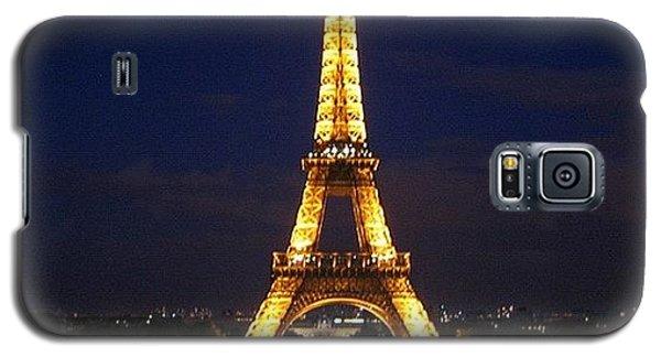 Light Galaxy S5 Case - Paris By Night by Luisa Azzolini